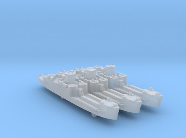 3pk US/UK LCI(L) mid WW2 1:700 in Smooth Fine Detail Plastic