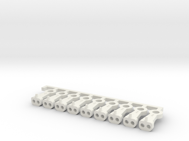 Magno-Electro Couplings for Liliput (Medium) x20 in White Natural Versatile Plastic