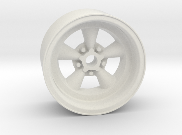 Classic 5T 18x9mm 4x1mm Hex OS -2.5 BS 2 in White Natural Versatile Plastic