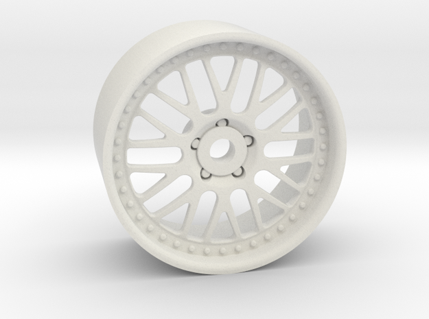GR10 19x10mm 4x1mm Hex OS 1 BS 6 in White Natural Versatile Plastic