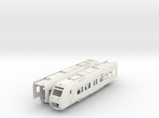Sprinter Lighttrain (H0) in White Strong & Flexible