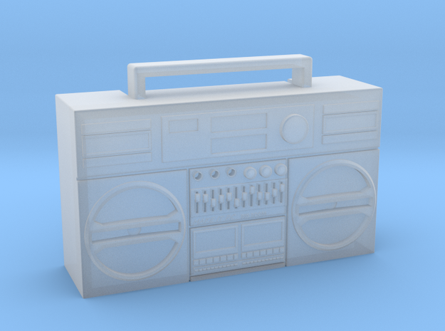 1/24 Boombox for RC and Model Car or Truck in Smooth Fine Detail Plastic