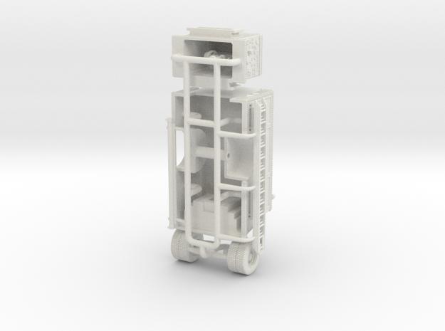 1/87 1995-1996 Philadelphia KME Deluge Engine Body in White Natural Versatile Plastic