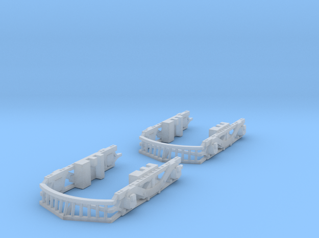 HO Illinois Terminal Class B Sideframes Stanton in Smooth Fine Detail Plastic