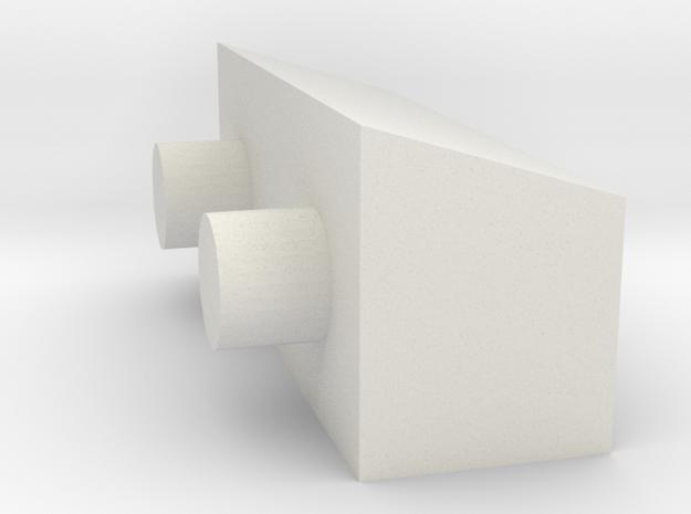 50-J-Quad 2 in White Natural Versatile Plastic