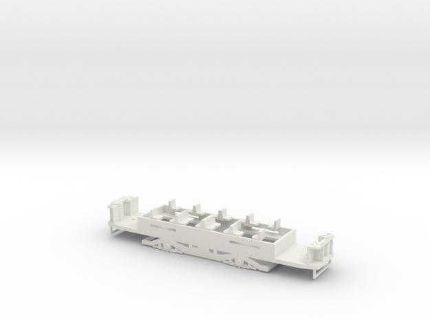 N1 Fahrgestell für einen Hallingmotor/Hallingräder in White Natural Versatile Plastic