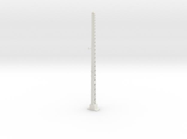 tapered lattice cat pole span MAINLINE in White Natural Versatile Plastic