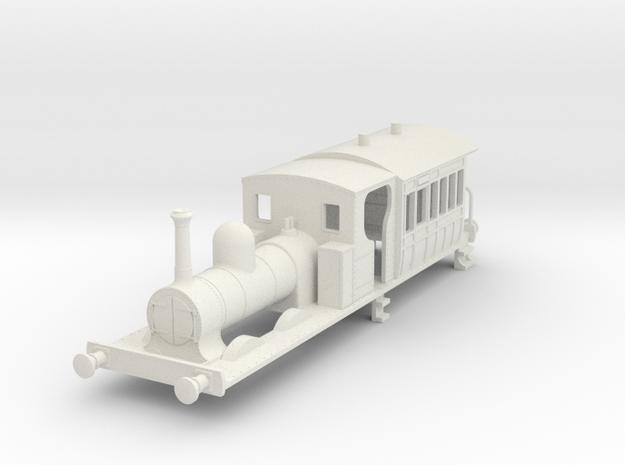 b-64-gswr-cl90-91-carriage-loco in White Natural Versatile Plastic