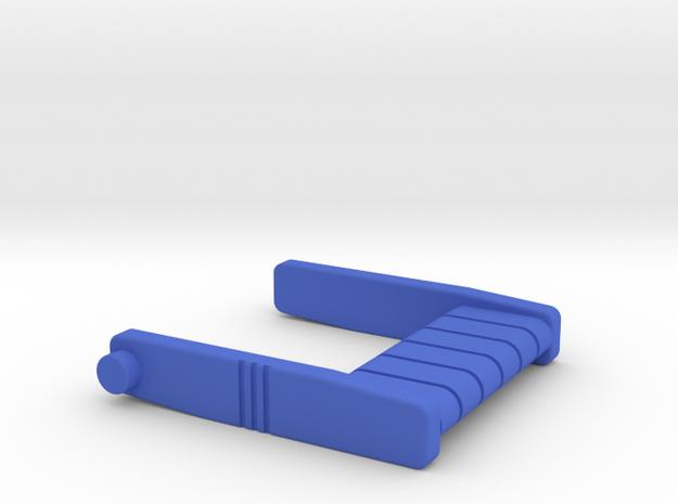 Starcom - Command Post - Folding Seat in Blue Processed Versatile Plastic