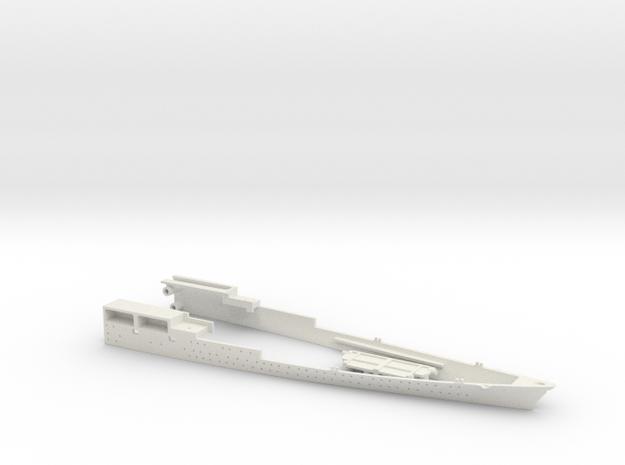 1/700 FlugDeckKreuzer AIII Bow in White Natural Versatile Plastic