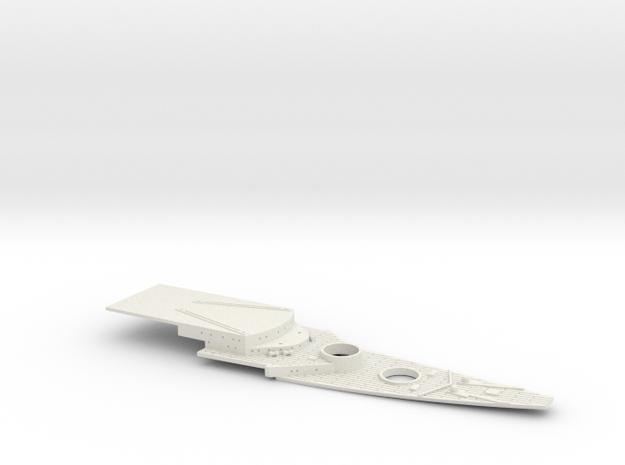 1/700 FlugDeckKreuzer AIII Bow Deck in White Natural Versatile Plastic