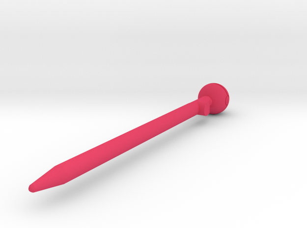 Nintendo 3DS Pokeball Stylus 3d printed