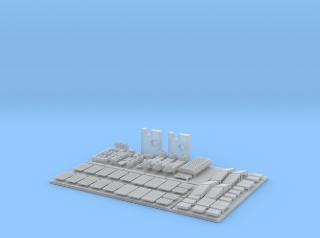 1:160 SU46 Parts for body - ALL in Smooth Fine Detail Plastic