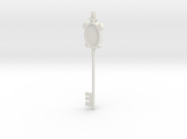 Resident Evil Closet Key Pt1 in White Natural Versatile Plastic