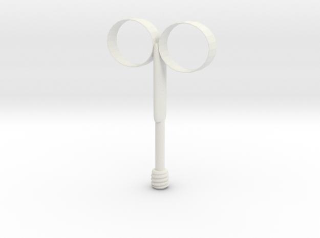 Cosplay Fireball Holder - child size in White Natural Versatile Plastic