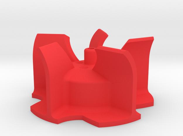 Wurfrad für Bruder Schneeschleuder in Red Processed Versatile Plastic
