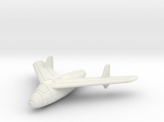 1/200 Junkers EF 128 in White Natural Versatile Plastic
