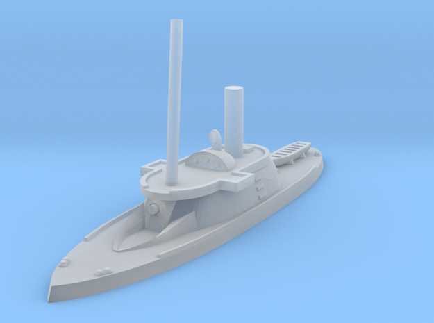 1/600 HSwMS Garmer in Smooth Fine Detail Plastic