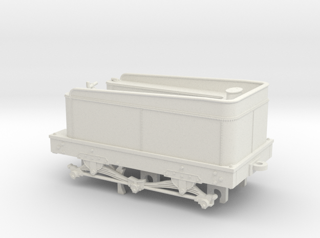 Norris Works Tioga Tender in White Natural Versatile Plastic