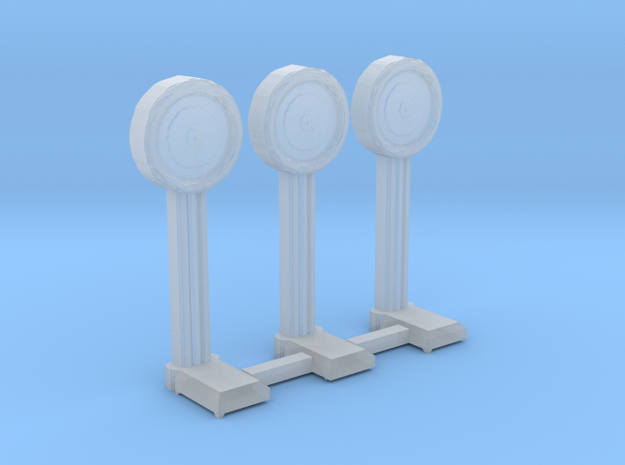 N-Scale 1920's Penny Scale - 3 Pack in Smooth Fine Detail Plastic