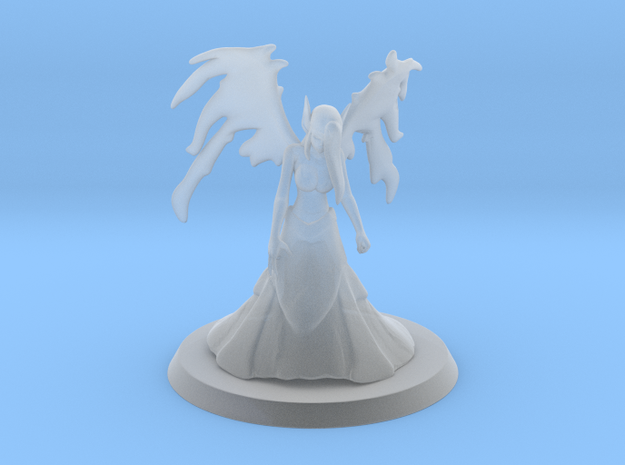 Morgana, the Fallen Angel (35mm) in Smooth Fine Detail Plastic