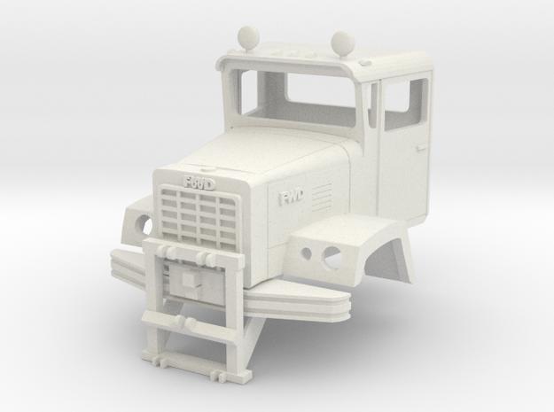 1/25 FWD RB cab in White Natural Versatile Plastic