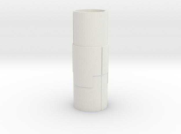 Starcom - Starbase Command - Plattform Support stu in White Natural Versatile Plastic