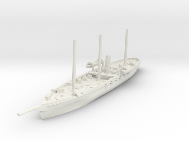 1/600 USS Pawnee (Final) in White Natural Versatile Plastic