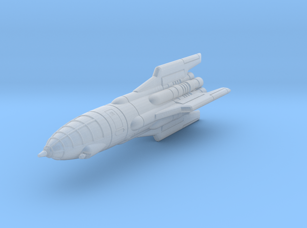 IPF Goshawk Interceptor Rocket 3d printed
