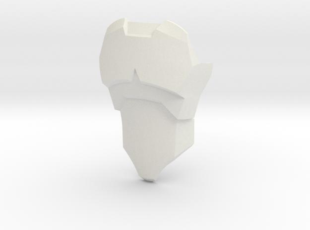 CCBS Torso Version 3 in White Natural Versatile Plastic