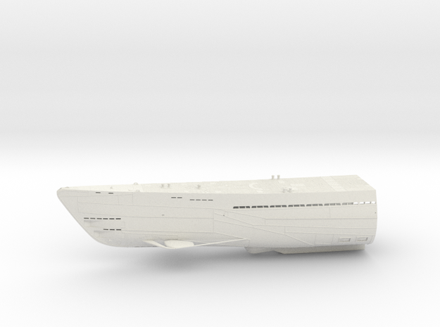 1/100 Uboot Hull Fore Part IXC U-505