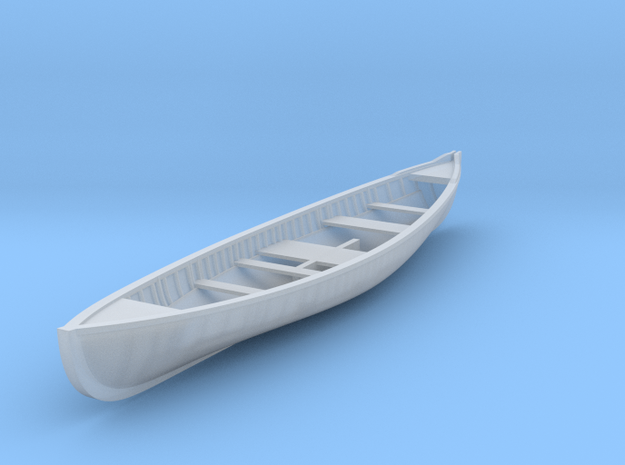 1/87 Whale Boat for Aurora Wanderer in Smooth Fine Detail Plastic
