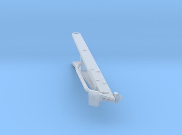 Higgins Radar Mast S0 24th scale A Frame in Smooth Fine Detail Plastic