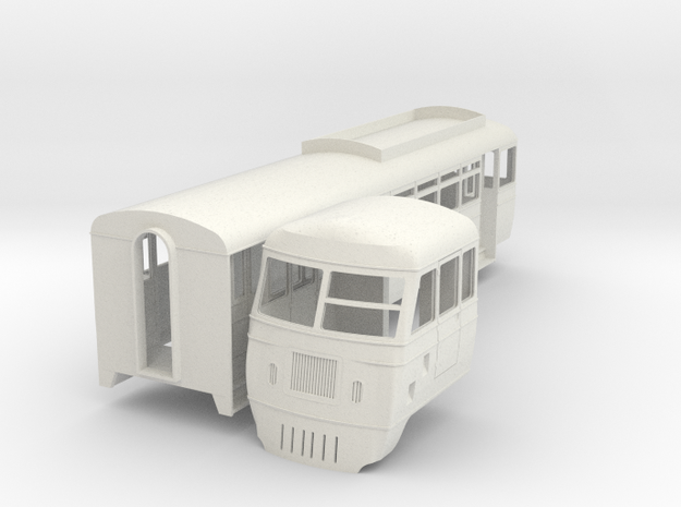 cdr-19-county-donegal-walker-railcar-20 in White Natural Versatile Plastic