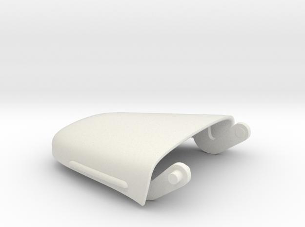DAF A117 pick up Motorkap (1:15,5) in White Natural Versatile Plastic