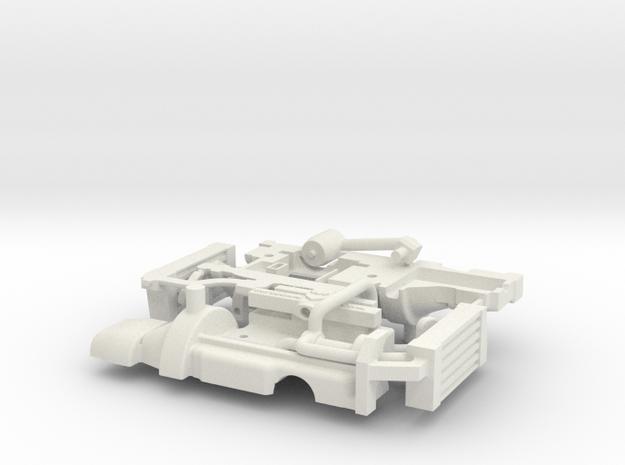 DAF A117 pick up motor (1:15) in White Natural Versatile Plastic
