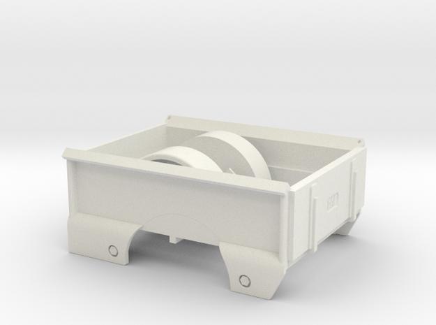 DAF A117 Pick up laadbak (1:15,5) in White Natural Versatile Plastic