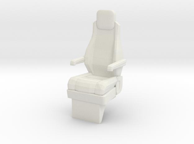 1:14 MAN F90 Feuerwehr Fire Brigade Center Seat in White Natural Versatile Plastic