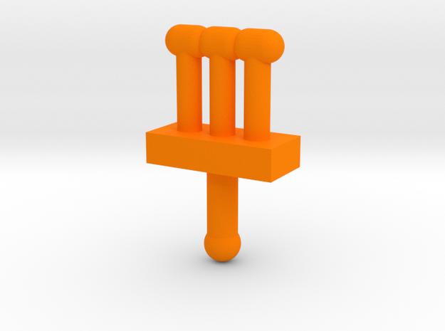 M.a.s.k. - Wildcat - signal in Orange Processed Versatile Plastic