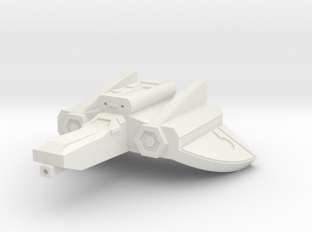 Mace Ground attack fighter 7.1cm in White Natural Versatile Plastic