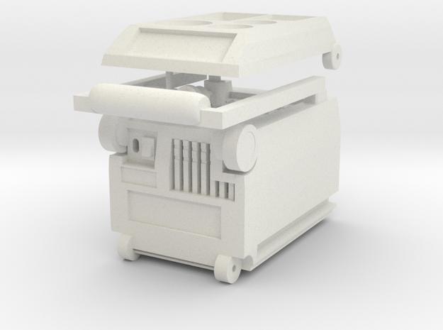 1:14 Kühlbox Cooling Box Fridge for Tamiya Trucks in White Natural Versatile Plastic
