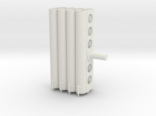 rocketlauncher20th barrels in White Natural Versatile Plastic