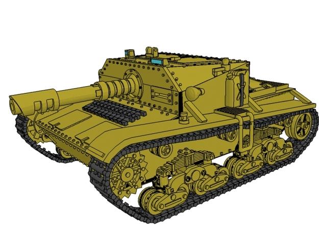 28mm Laser-Semovente SPG (Wk.6 tank based)
