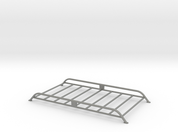 Roof-mounted rack in Gray PA12