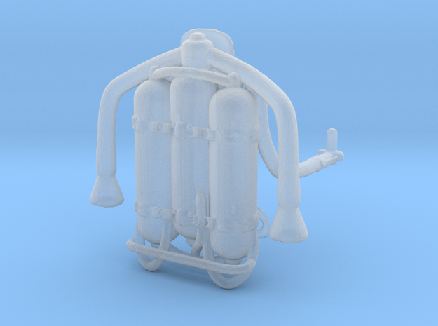 Lost in Space Jet Pack 1.35 in Smooth Fine Detail Plastic