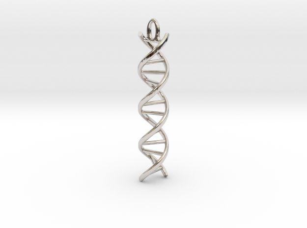 dna helix in Platinum