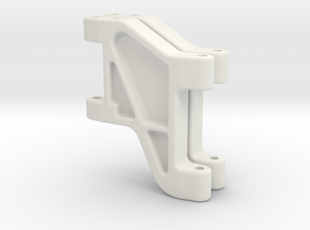 Tamiya FF01 Rear Arm Wheelbase Adjust in White Natural Versatile Plastic
