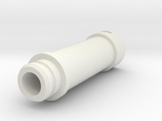 tremie pipe - length 1,0m in White Natural Versatile Plastic