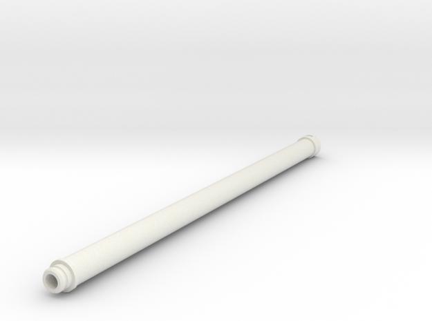 tremie pipe - length 6,0m in White Natural Versatile Plastic