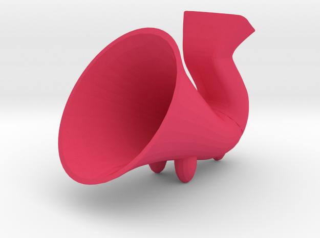 Mobile Passive Amp in Pink Processed Versatile Plastic